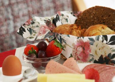 Frühstückbuffet auch individuell möglich